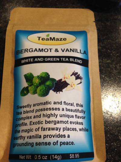 Bergamot & Vanilla White/Green Tea Blend